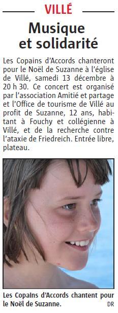 L'Alsace du 3 décembre 2014