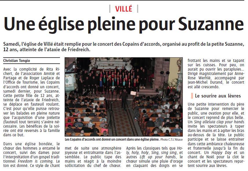L'Alsace du 16 décembre 2014