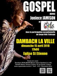 Concert exceptionnel avec Joniece Jamison